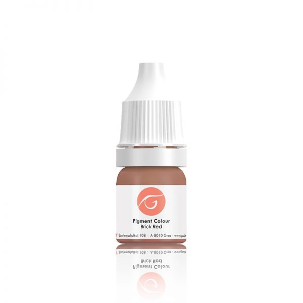 Gaube Kosmetik pigmentas Brick Red, 5ml/10ml