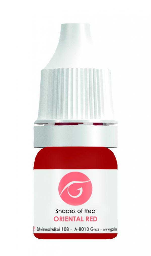 Gaube Kosmetik pigmentas Oriental Red, 5ml